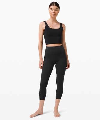 Nulu™ Fold High-Rise Yoga Crop 23""