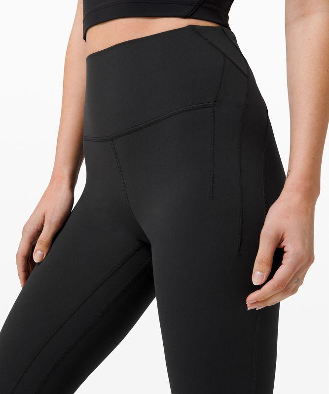 "Nulu™ Fold Yoga High-Rise Crop 23"""