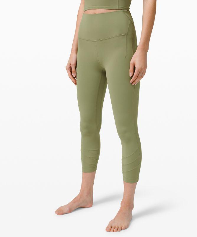 "Nulu� Fold HR Yoga Crop 23"""
