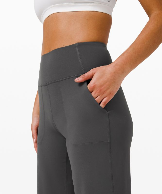 lululemon Align™ Wide Leg Super-High-Rise Crop 23""