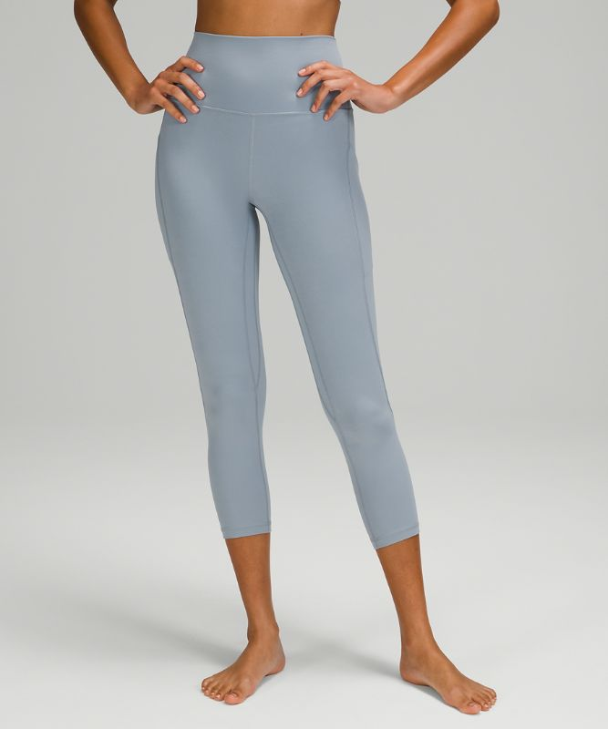 """Align High-Rise Crop 23"""" with Pockets"""