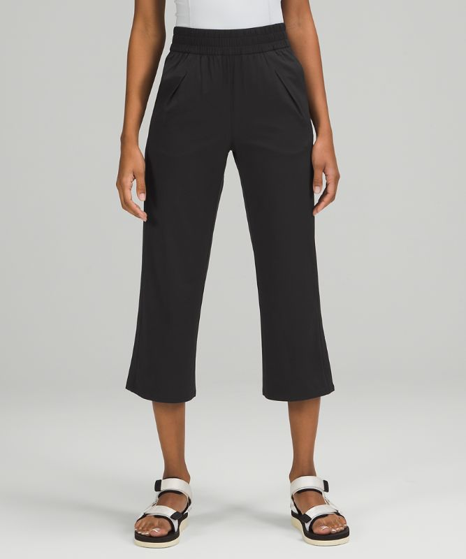 Ease Back In High-Rise Culotte