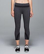 Run: Inspire Crop II GHWE/BLK 8