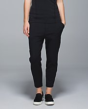Exquisite Trouser Crop BLK/BLK 8