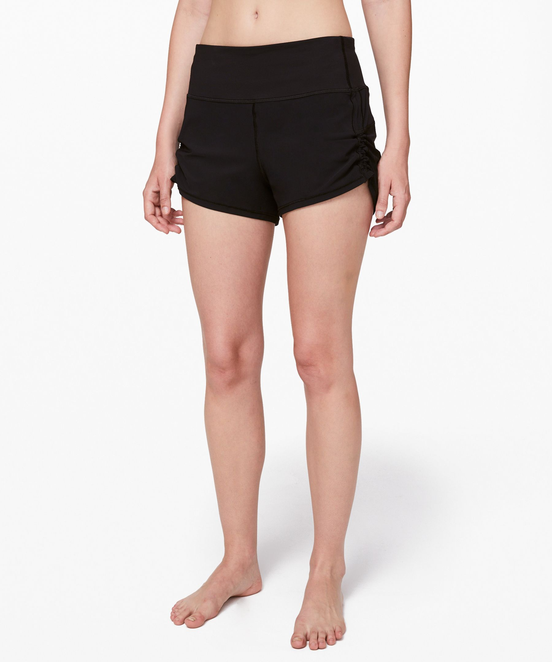 Femmes Pour StretchShorts Lululemon Short Athletica Cinch And edxrWCBo