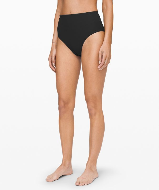 Clear Waters High-Waist Skimpy Bottom *Online Only