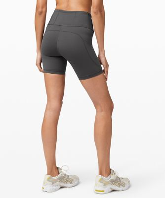 """Fast and Free High-Rise Short 6"""" *Non-Reflective"""