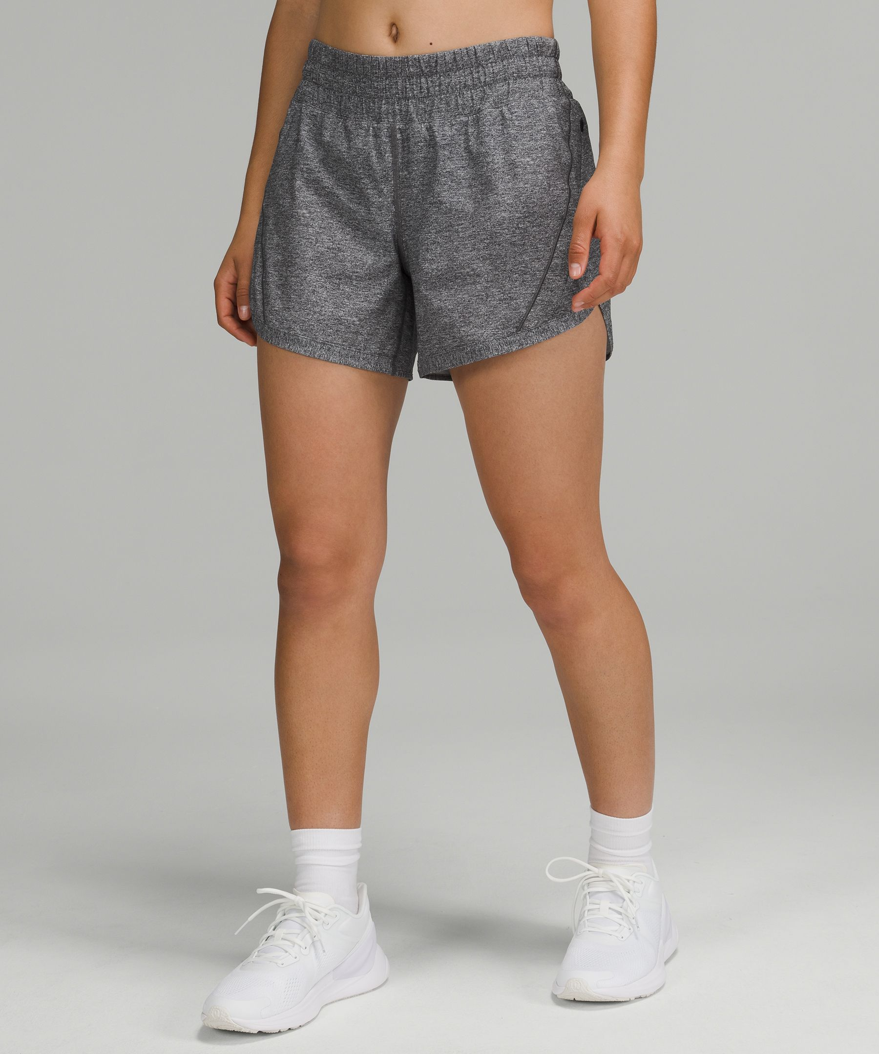 Long strides welcome. We made these high-coverage run shorts with a little extra room in the leg opening.