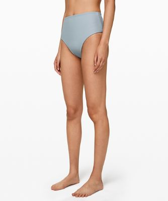 Clear Waters High-Waist Skimpy Bottom