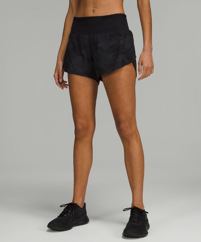 """Speed Up Mid Rise Short 4"""" Lined"""