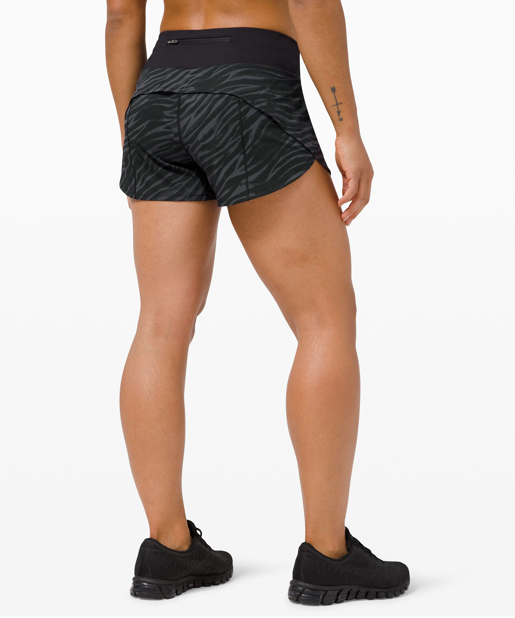 "Speed Up Mid-Rise Short 4""  *Lined"