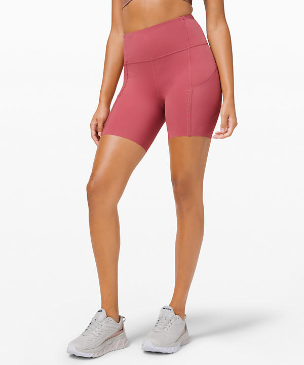 Fast and Free High Rise Short 6 Elite | Women's Shorts