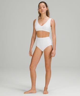 Waterside High-Waisted Bikini Bottom *Medium Coverage