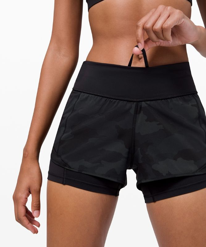 "Hotty Hot Low-Rise Short 4"" *Nulux"