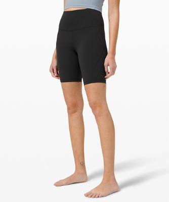"Nulu™ Fold High-Rise Yoga Short 8"" *Online Only"
