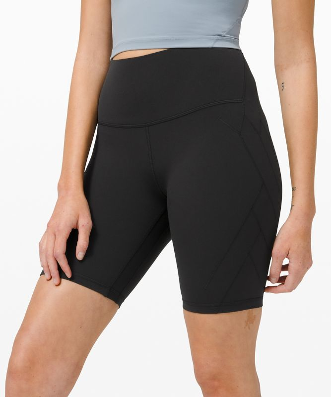 "Nulu™ Fold High-Rise Yoga Short 8"" *Online Only"