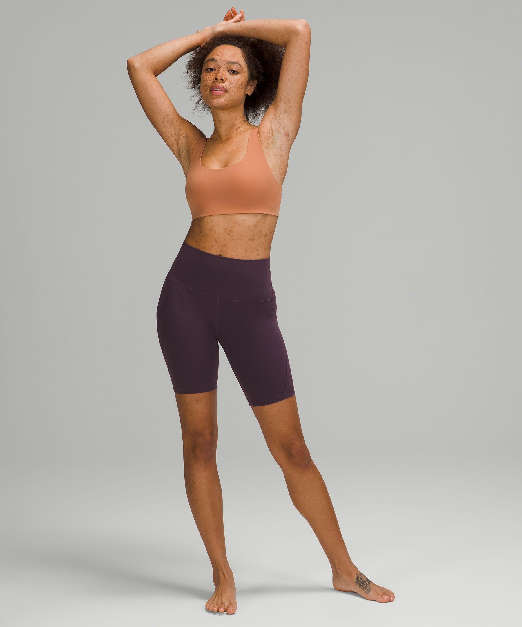 "Nulu™ Fold High-Rise Yoga Short 8"""