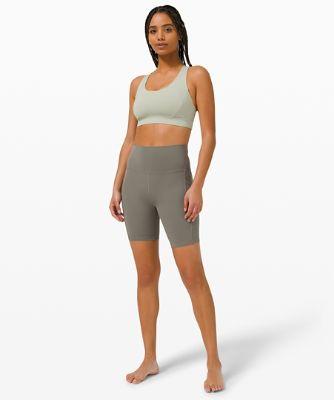 lululemon Align™ Shorts mit hohem Bund und Taschen 20cm