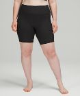 Ribbed Contoured HR Short 8""