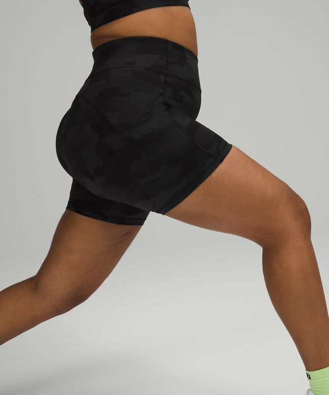 """Invigorate High-Rise Short 6"""" *Online Only"""