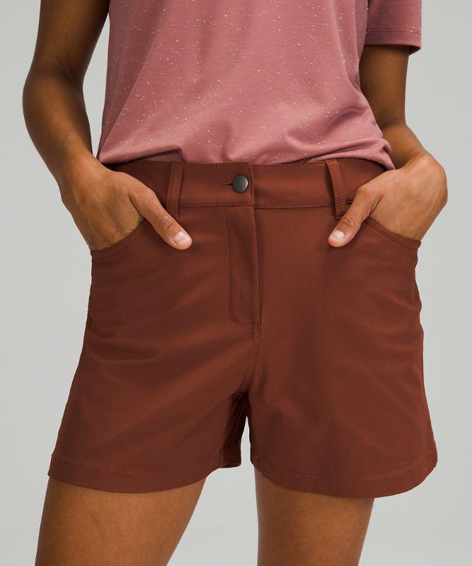 "City Sleek 5 Pocket High-Rise Short 4"""