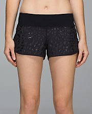 Run: Speed Short*SE BLK/BLK 8