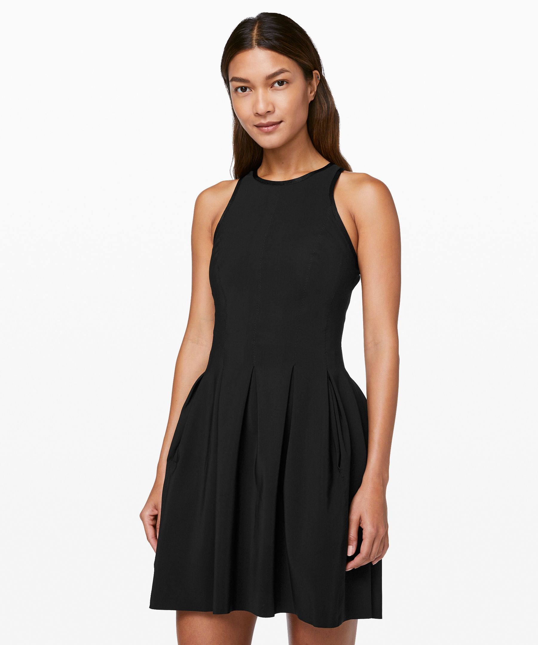 Lululemon Here To There Dress In Black