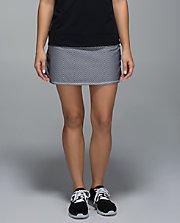 Run: Pace-Setter Skirt GHBW/BLK 8