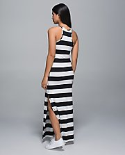 Refresh Maxi Dress BLK/WHT 8
