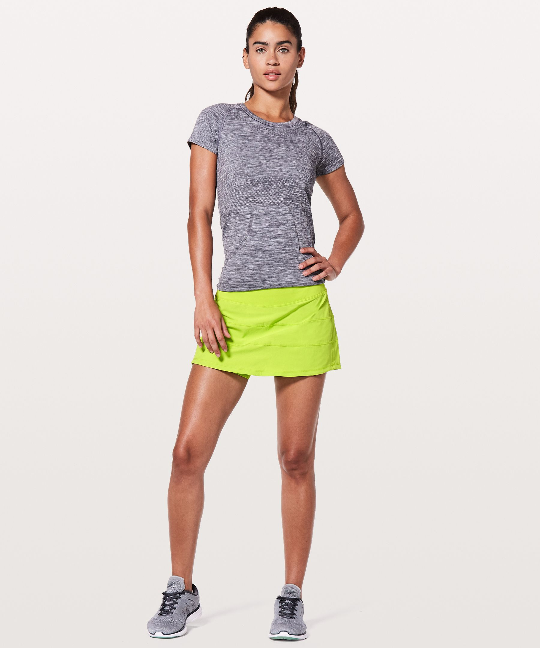 """Pace Rival Skirt (Regular) 4 Way Stretch 13""""New by Lululemon"""