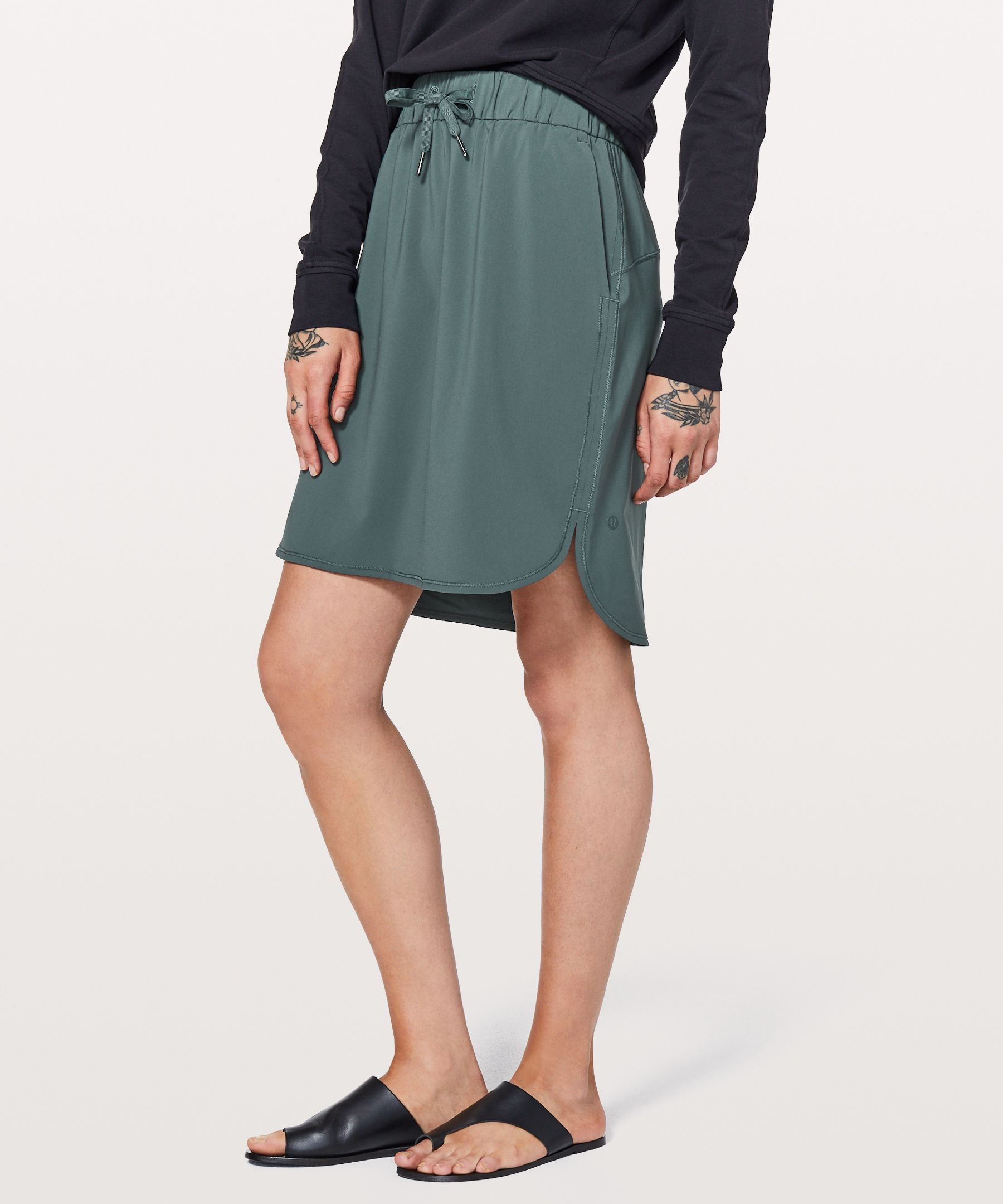 """On The Fly Skirt  21""""New by Lululemon"""