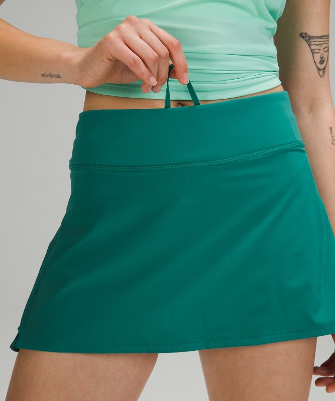 Play Off the Pleats Skirt