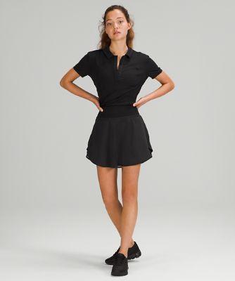 Flutter Hem High-Rise Tennis Skirt *Online Only