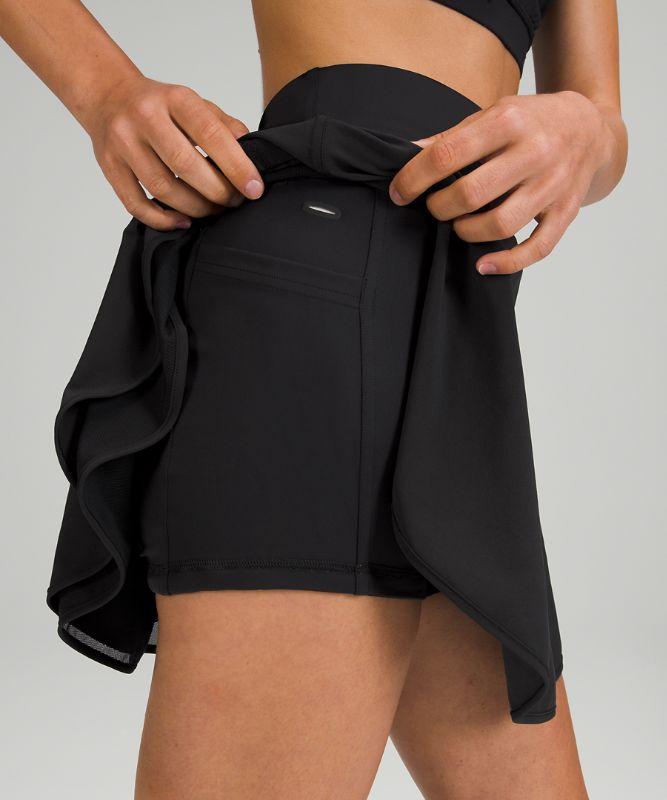Flutter Hem HR Tennis Skirt