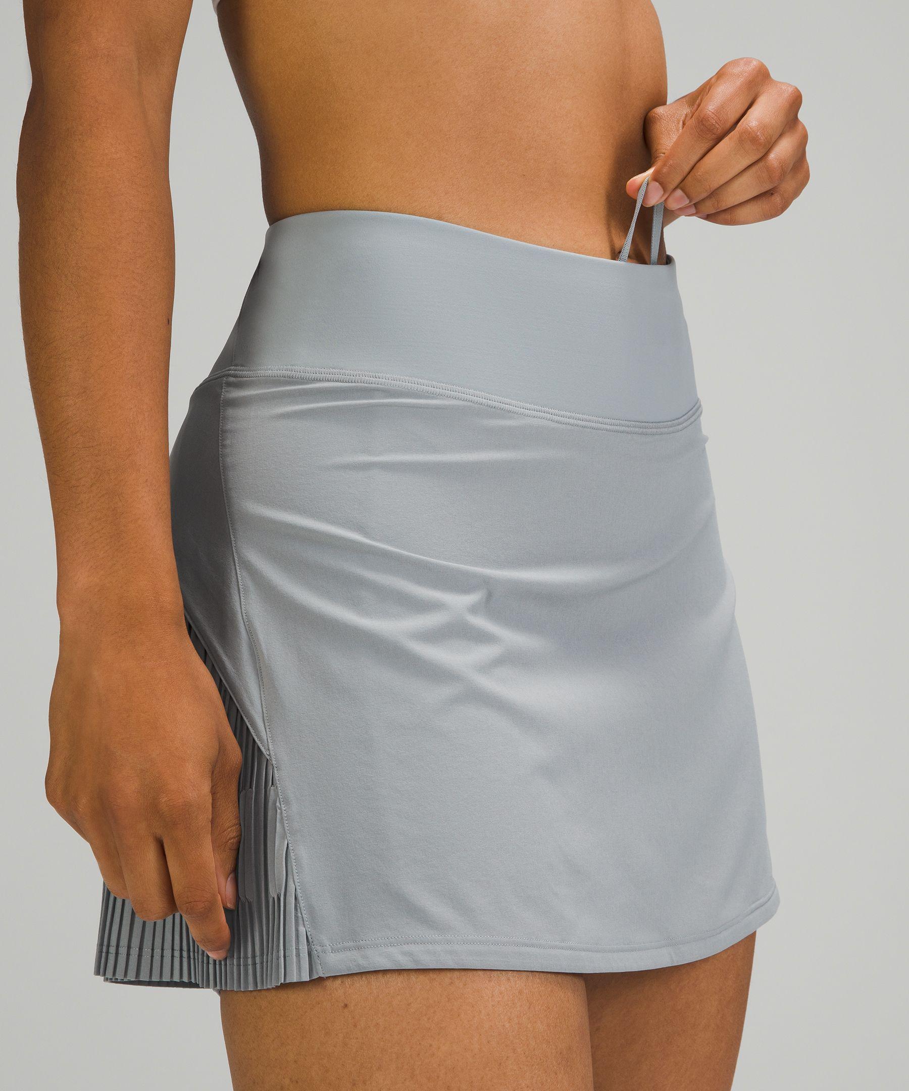 Pleated Lined Tennis Skirt
