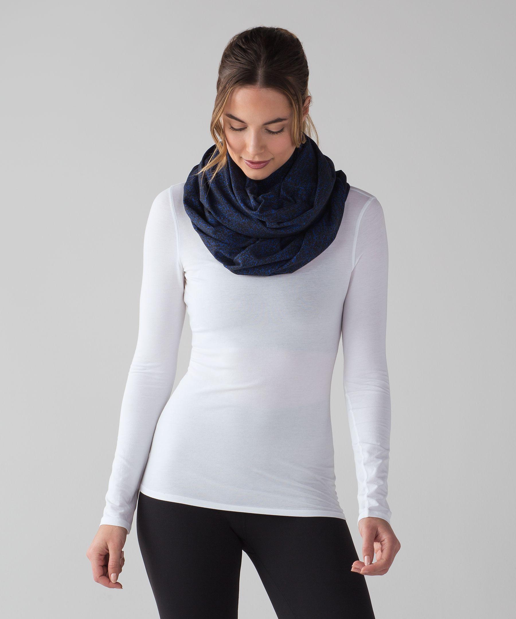 vinyasa scarf rulu s scarves gloves lululemon