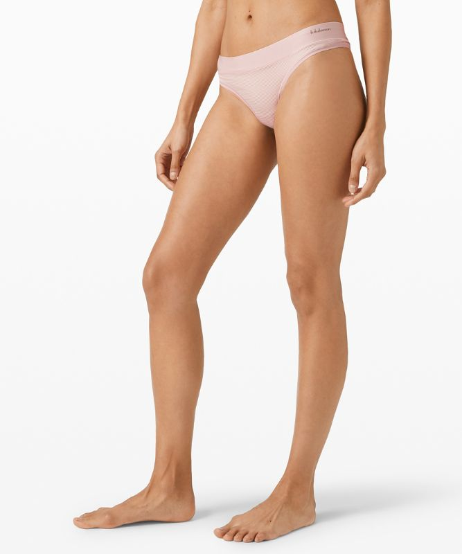 Soft Breathable Thong *Stripe