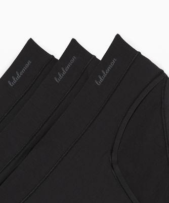 소프트 브리더블 비키니 세트 (3 pcs), BLACK-BLACK-BLACK