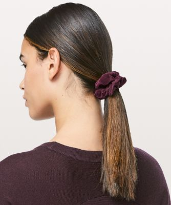 Uplifting Scrunchie *Flocked