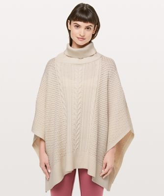 Rolling in the Warmth Poncho
