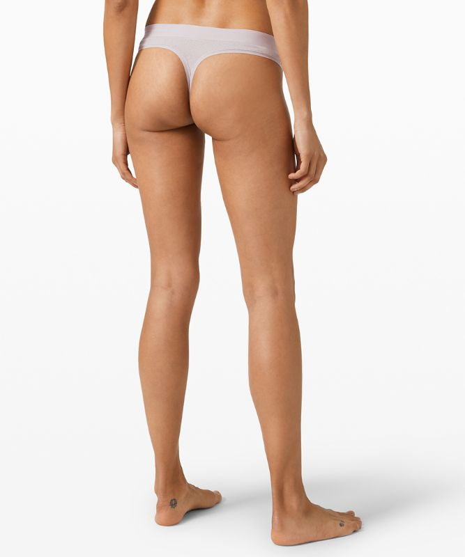 Soft Breathable Thong