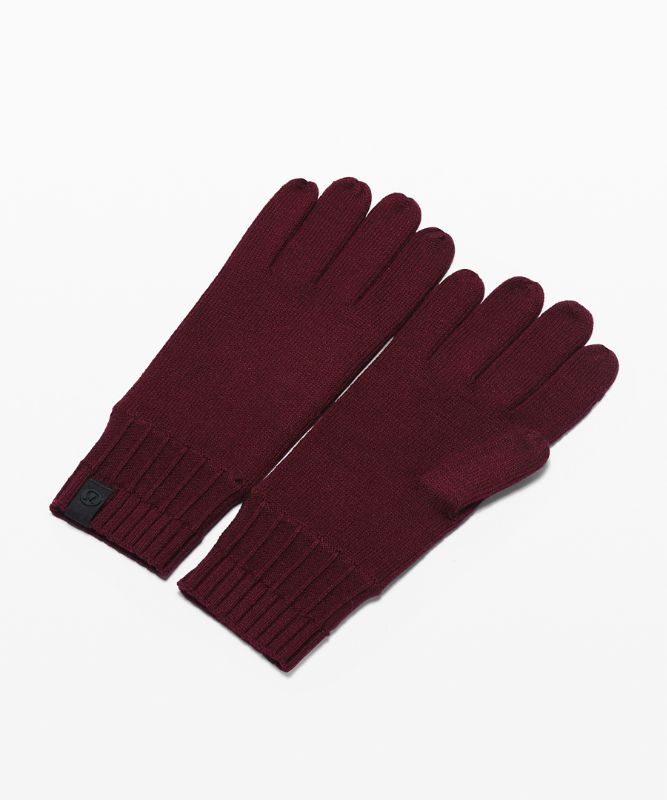 Gants tricotés Tech and Toasty