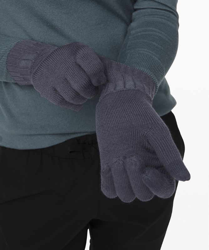 Tech and Toasty Knit Gloves