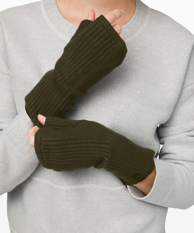 Crazy Cozy Fingerless Gloves