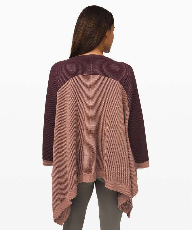 It All Lines Up Poncho