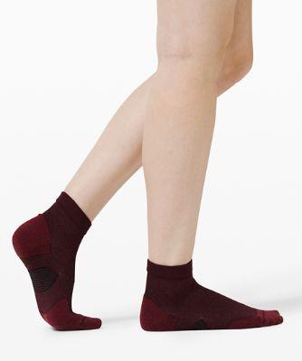 Socquettes Speed Ankle *Fils d'argent