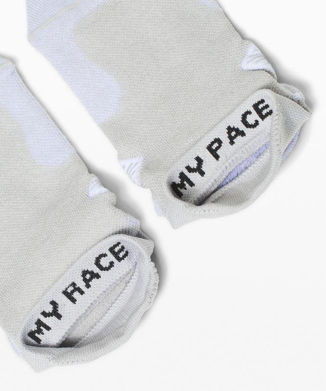 Speed Tab Sock *Silver