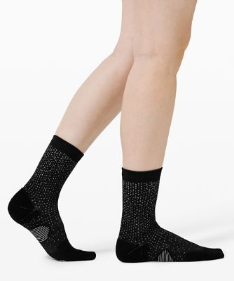 Speed Quarter Socken *Reflektierend