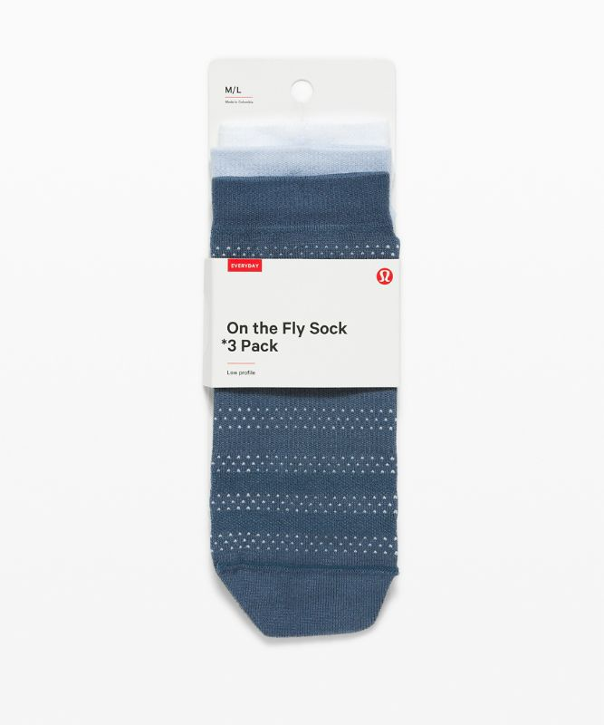 On the Fly Sock 3 Pack