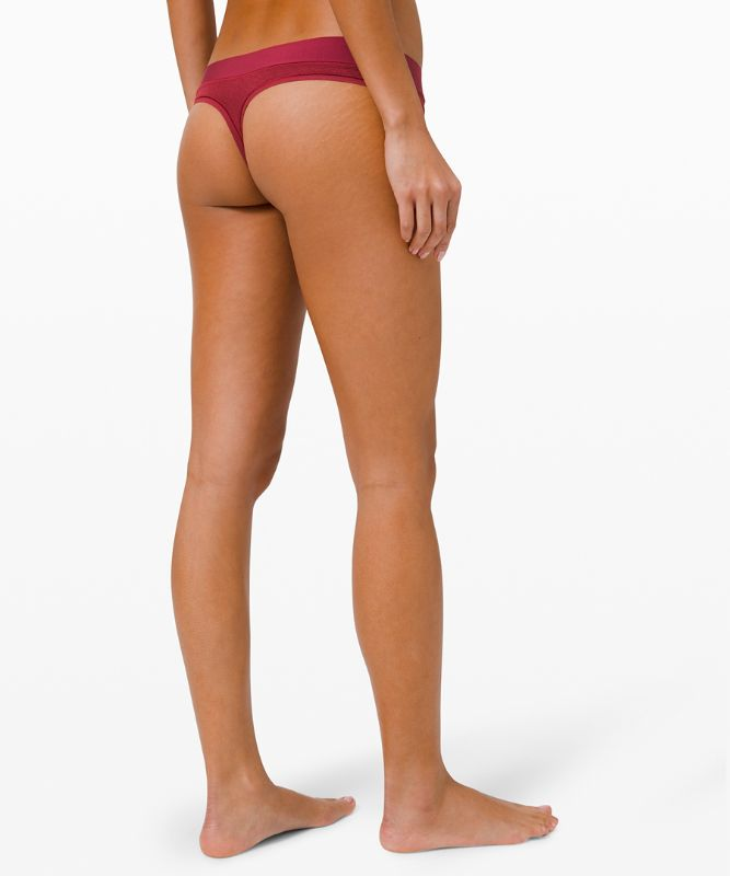 Mula Bandhawear Thong *Lace 3 Pack